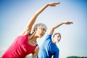 Staying active can help keep your bones healthy.
